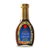 San J Tamari Ginger Asian Dressing, 8 OZ (Pack of 6)