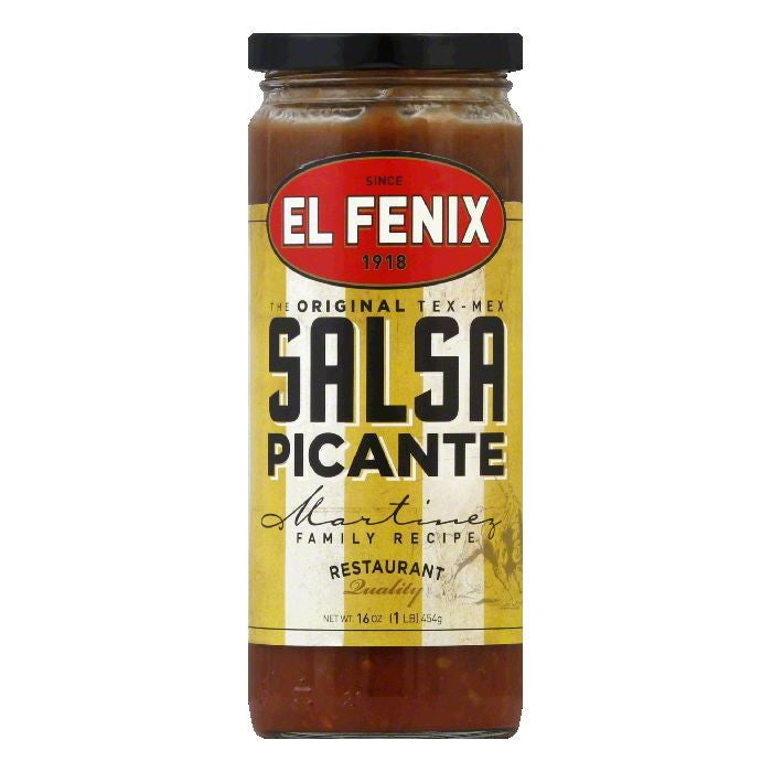 El Fenix Hot Sauce, 16 OZ (Pack of 12)