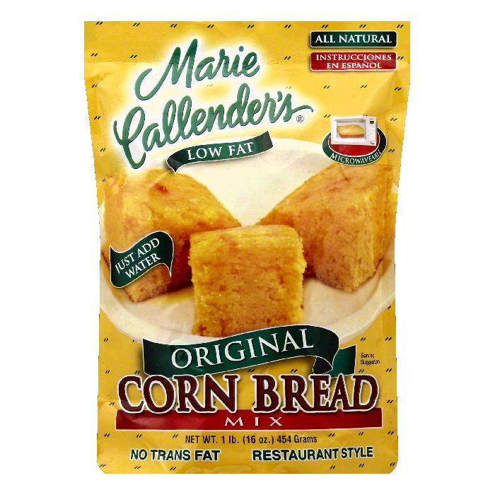 Marie Callenders Low Fat Original Restaurant Style Corn Bread Mix, 16 OZ (Pack of 12)
