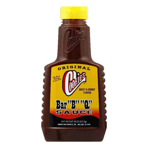 Cookies BBQ Original Barbeque Sauce, 18 OZ (Pack of 12)