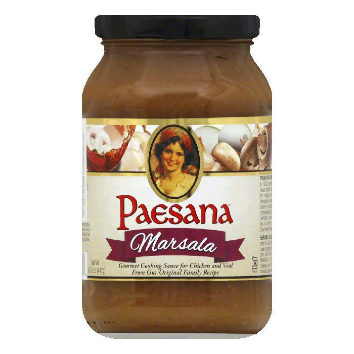 Paesana Marsala Cooking Sauce, 15.75 OZ (Pack of 6)