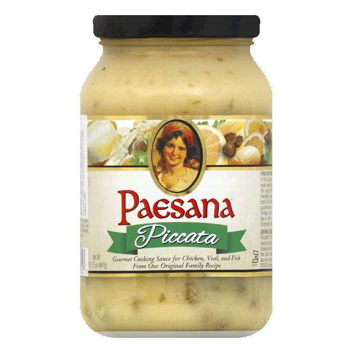 Paesana Piccata Cooking Sauce, 15.75 OZ (Pack of 6)