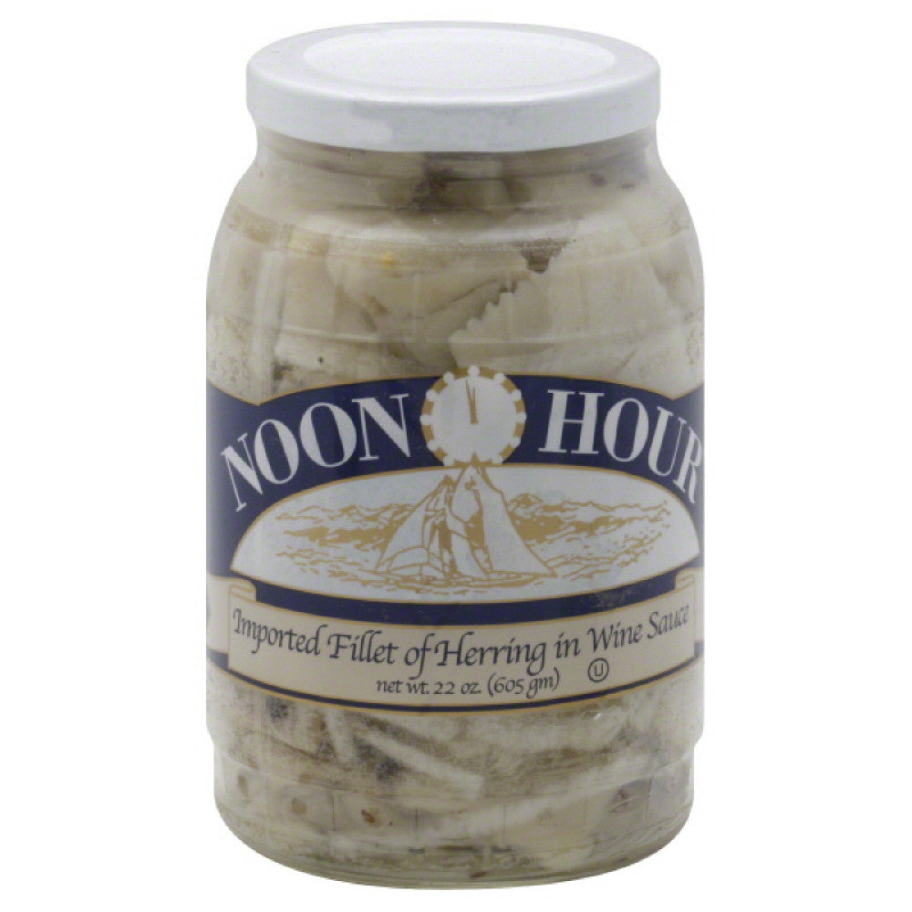 Noon Hour Fillet of Herring Wine Sauce, 22 Oz (Pack of 6)