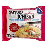 Sapporo Ichiban Japanese Style Noodles & Shrimp Flavored Soup, 3.5 OZ (Pack of 24)