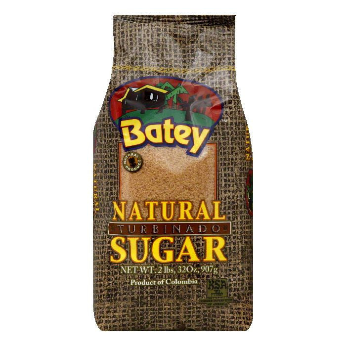 Batey Turbinado Natural Sugar, 2 LB (Pack of 18)