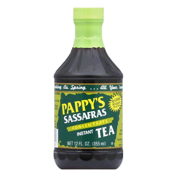 Pappy's Sassafras Tea Concentrate, 12 FO (Pack of 6)