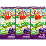 Apple & Eve Organics Grape 100% Juice 3-6.75 fl. Oz Aseptic Packs (Pack of 9)