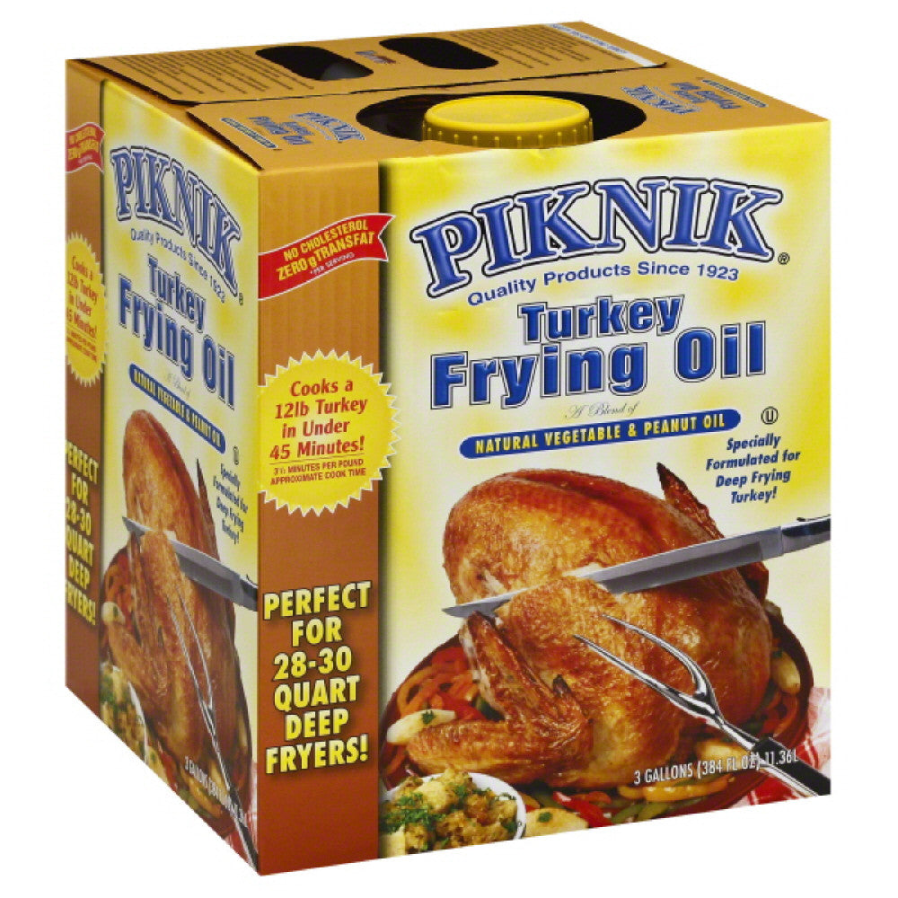 Piknik Turkey Frying Oil, 3 Ga