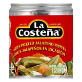 La Costena Whole Jalapeno, 7 OZ (Pack of 12)