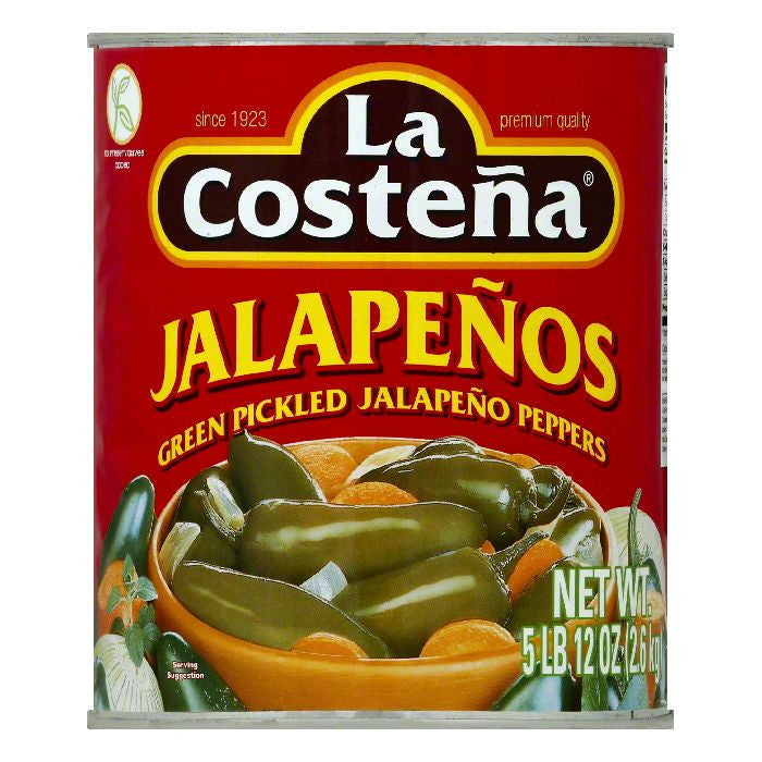 La Costena Jalapenos, 92 OZ (Pack of 6)