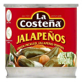 La Costena Green Pickled Jalapeno Peppers, 12 OZ (Pack of 12)