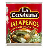 La Costena Green Pickled Jalapeno Peppers, 26 OZ (Pack of 12)