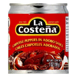 La Costena Chipotle Peppers, 7 OZ (Pack of 12)