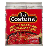 La Costena Medium Homestyle Mexican Salsa, 7.76 OZ (Pack of 12)