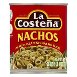 La Costena Pickled Jalapeno Nacho Slices, 26 OZ (Pack of 12)