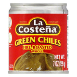 La Costena Fire-Roasted Whole Green Chiles, 7 Oz (Pack of 24)