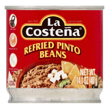 La Costena Refried Pinto Beans, 14.1 OZ (Pack of 12)