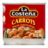 La Costena Sliced Pickled Carrots, 14.1 OZ (Pack of 12)