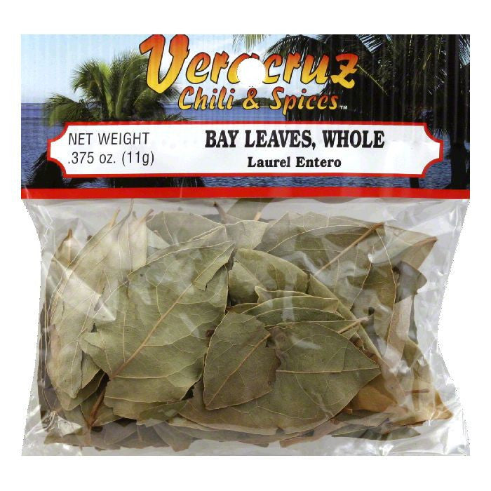 Veracruz Whole Bay Leave, 0.38 Oz (Pack of 12)