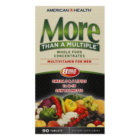 American Health Tablets for Men Multivitamin, 90 TB
