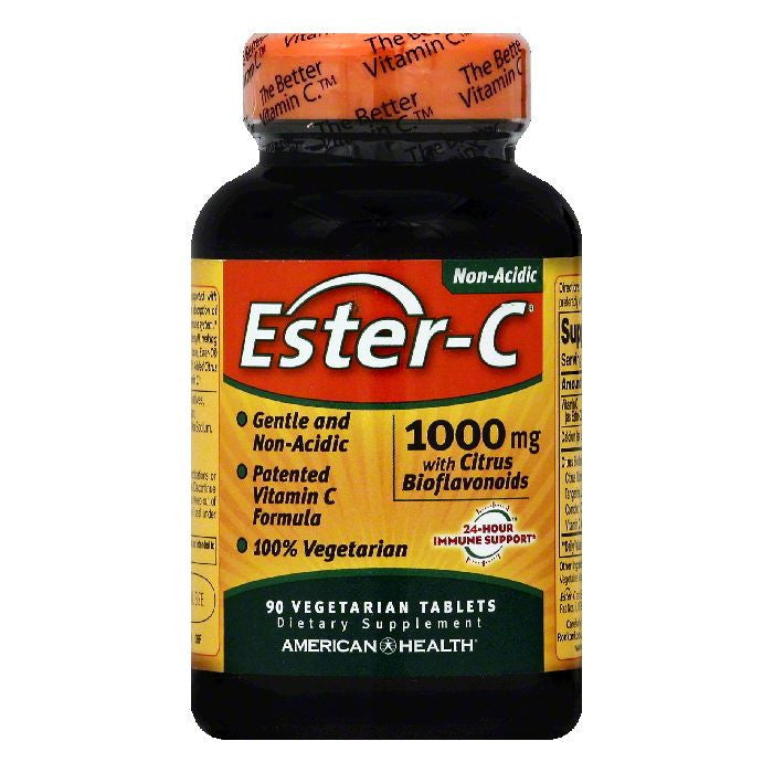 Ester C Vegetarian Tablets 1000 mg Ester-C, 90 ea
