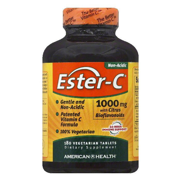 Ester C Vegetarian Tablets 1000 mg Ester-C, 180 TB