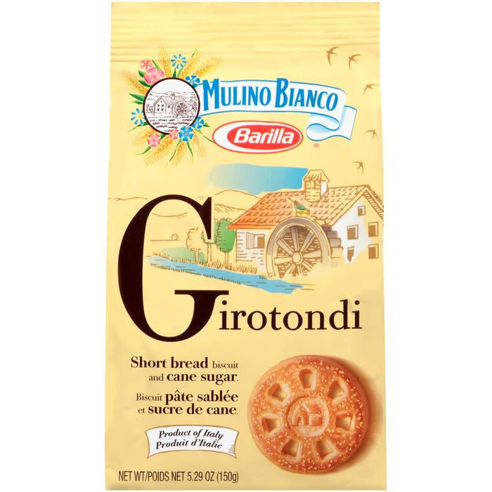Barilla Mulino Bianco Girotondi 5.29 Oz Bag. (Pack of 10)