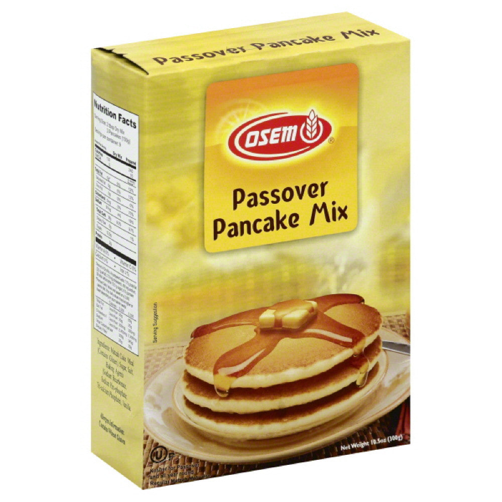 Osem Passover Pancake Mix, 10.5 Oz (Pack of 12)