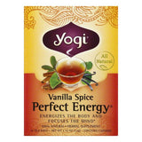 Yogi Tea Vanilla Spice Perfect Energy Tea, 16 BG (Pack of 6)