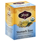 Yogi Stomach Ease Organic Tea Bags, 16 Bg (Pack of 6)
