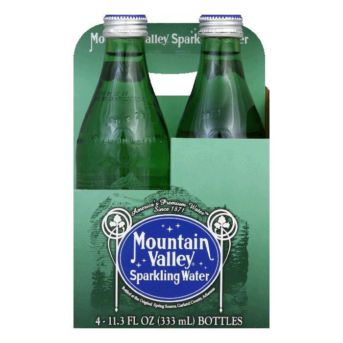 Mountain Valley Sparkling Water, 45.2 FO (Pack of 6)