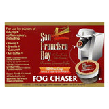 San Francisco Bay Single Serve Fog Chaser Premium Gourmet Coffee, 12 PC (Pack of 6)