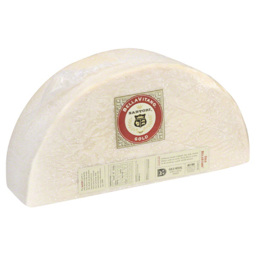 Sartori Gold BellaVitano Cheese, 10 Lb