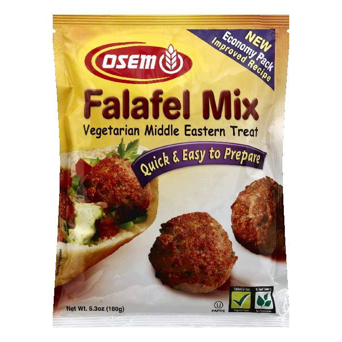 Osem Economy Pack Falafel Mix, 6.3 OZ (Pack of 12)