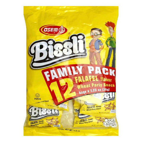 Osem Bissli Multi Pack Farfel Snack, 14.8 OZ (Pack of 4)