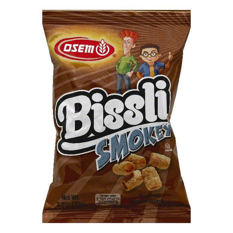 Osem Smokey Flavored Bissli Wheat Snacks, 2.5 OZ (Pack of 24)