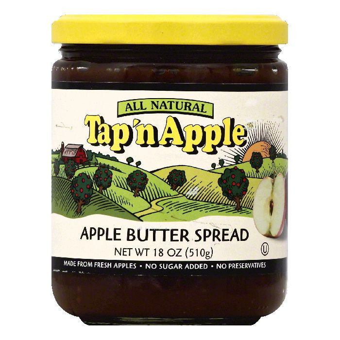 Tap N Apple Apple Butter Spread, 18 OZ (Pack of 12)