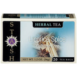 STASH Licorice Spice 20 Ct Tea Bags 1.2 OZ  (Pack of 6)