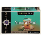 Stash Moroc Mint Green Tea Bags 20 Ct  (Pack of 6)