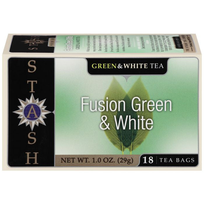 Stash Fusion Green & White Tea Bags 18 Ct  (Pack of 6)