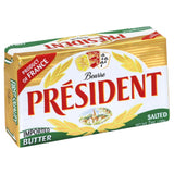 President Salted Butter, 7 Oz (Pack of 20)