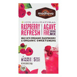 Madhava Raspberry Refresh Agave Five Drink Mix, 6 ea (Pack of 6)