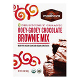 Madhava Ooey-Gooey Chocolate Brownie Mix, 17.5 Oz (Pack of 6)