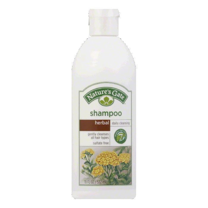Nature's Gate Shampoo Herbal, 18 OZ