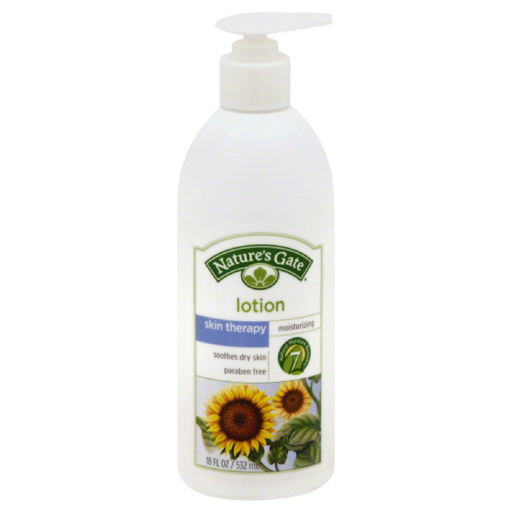 Natures Gate Skin Therapy Moisturizing Lotion, 18 Oz