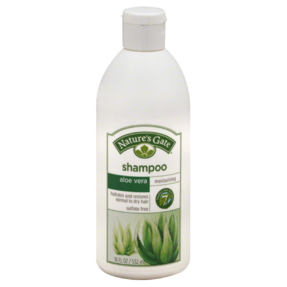 Natures Gate Aloe Vera Moisturizing Shampoo, 18 Oz