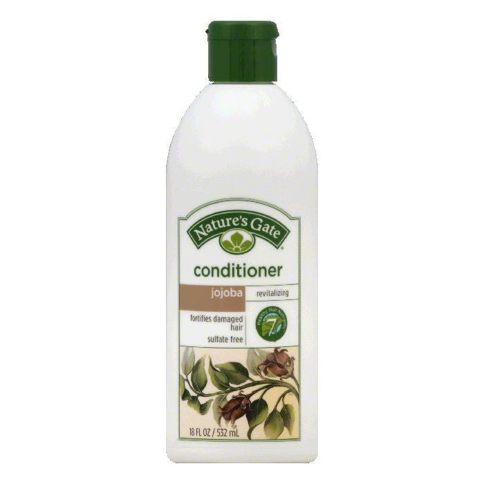 Natures Gate Revitalizing Jojoba Conditioner, 18 OZ