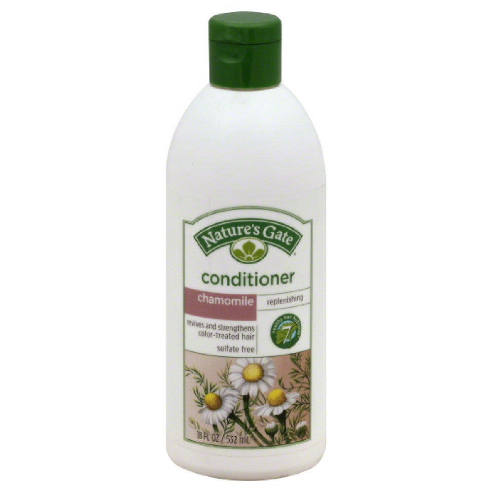 Natures Gate Chamomile Replenishing Conditioner, 18 Oz