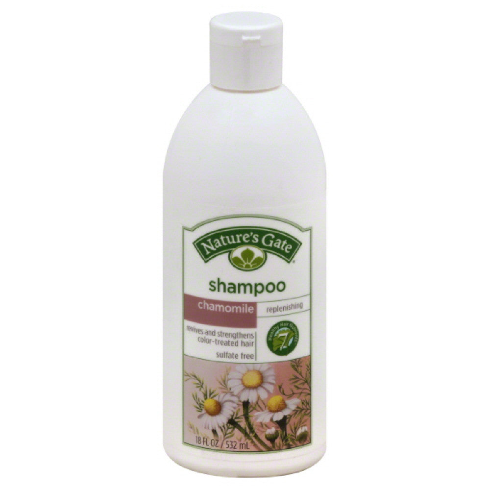 Natures Gate Chamomile Replenishing Shampoo, 18 Oz