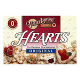 Valley Lahvosh Hearts Original Crackerbread, 4.5 OZ (Pack of 12)